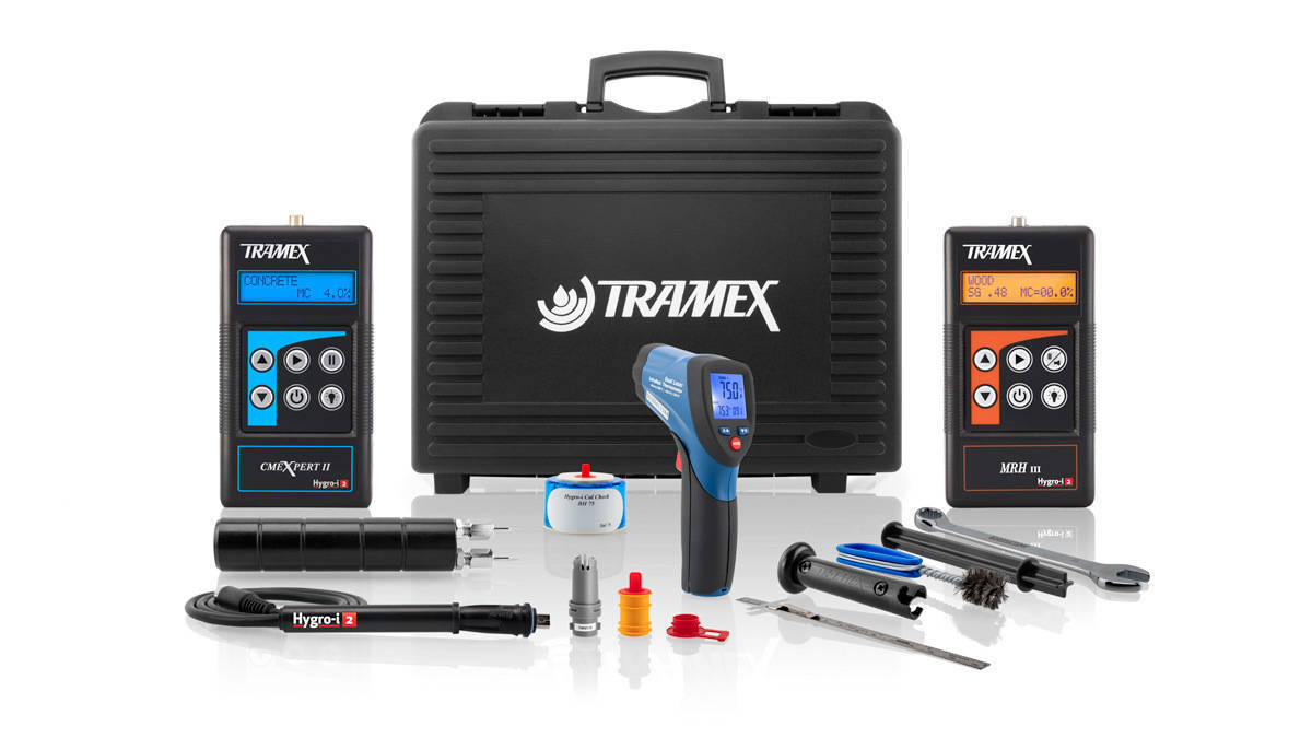 Tramex Flooring Master Inspection Kit