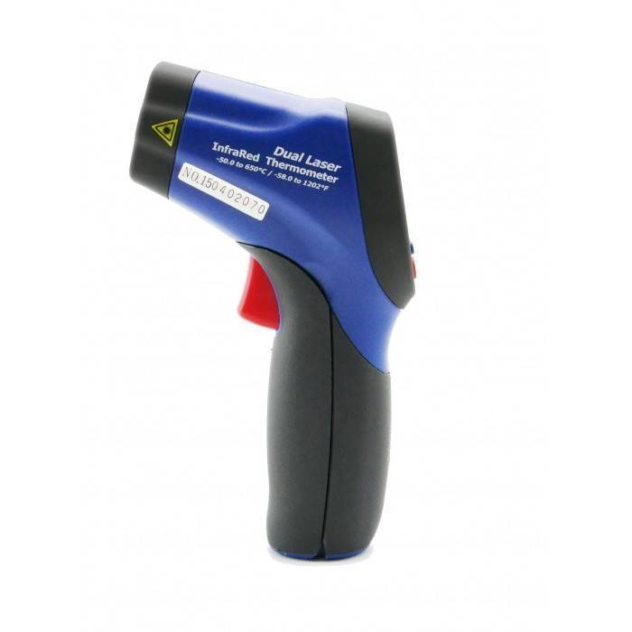 Infrared Surface Thermometer side on