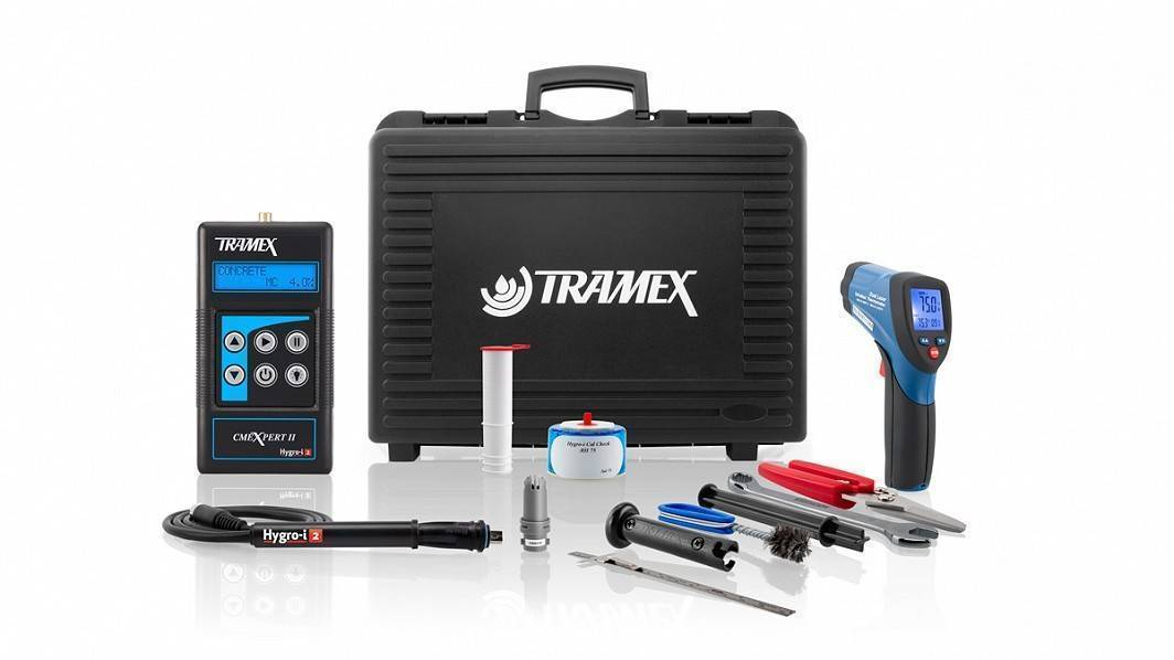 Tramex Concrete Inspection Master Kit CMK5.1