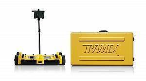 Tramex Dec Scanner with Yellow Case on white bg