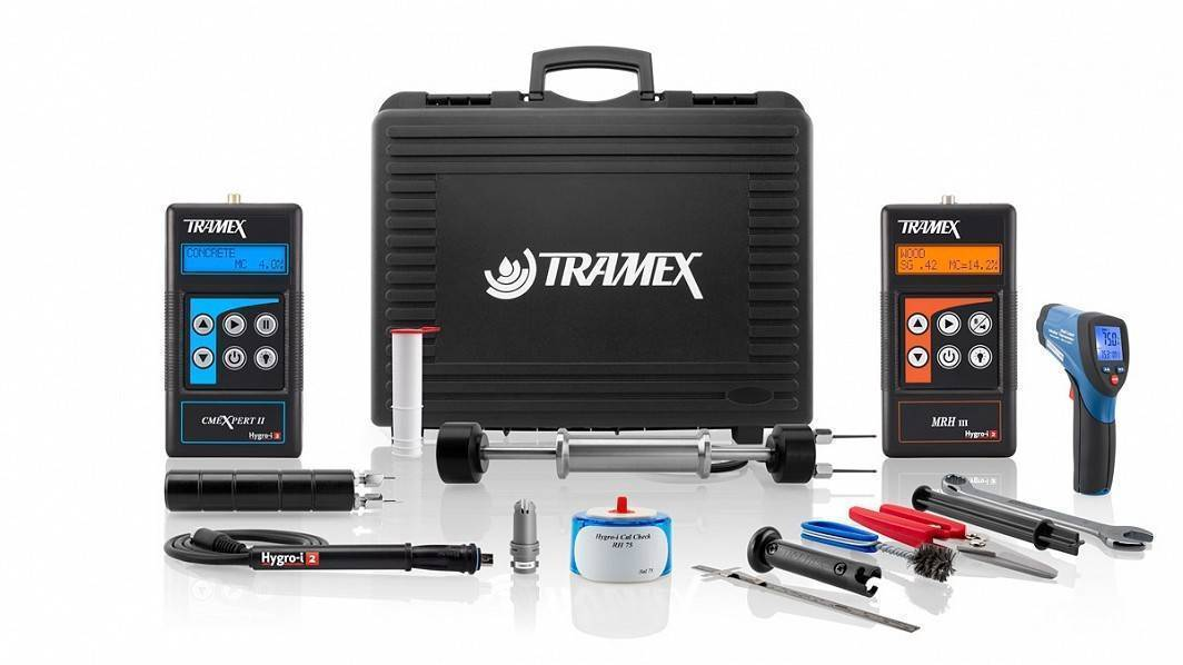 Tramex Flooring Inspection Master Kit FMK5.1