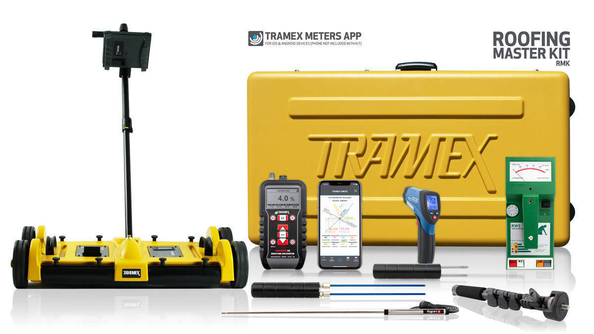 Tramex Moisture Meters for Roofing