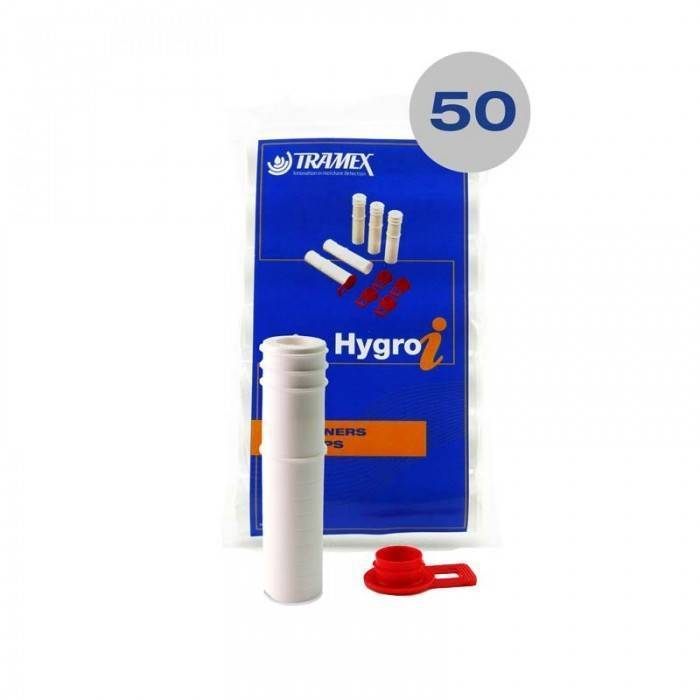 RHHL50 - 50 Hygro-i Hole liners and Caps