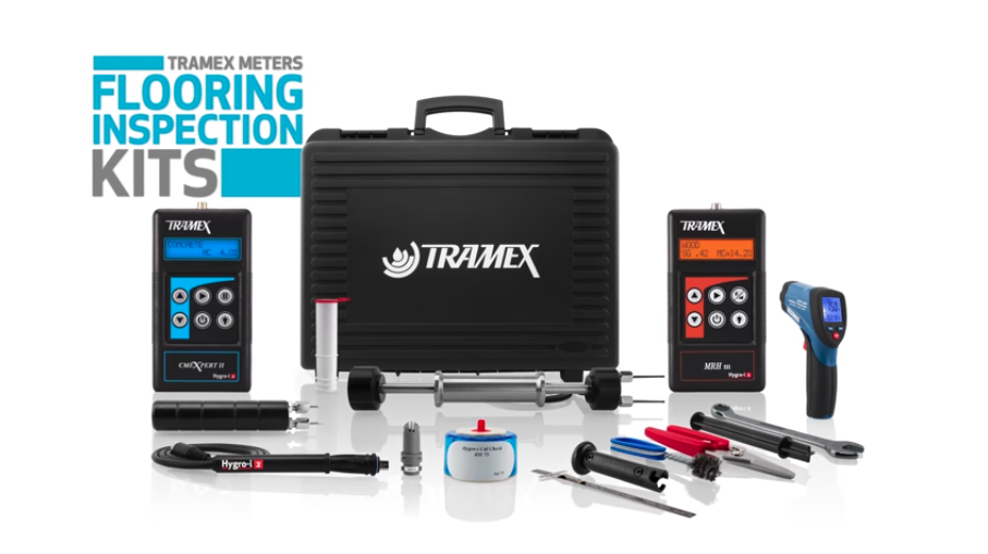 TRAMEX – The Optimal Meter in Your Toolbox to Detect Moisture in Flooring