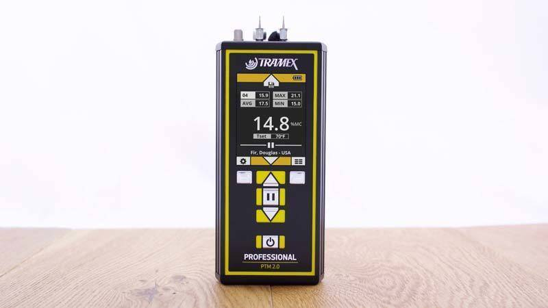 Review of the Tramex Professional Pin-Type Moisture Meter PTM 2.0.