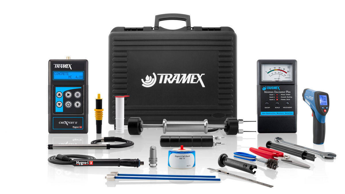 Tramex Water Damage Restoration Master Kit